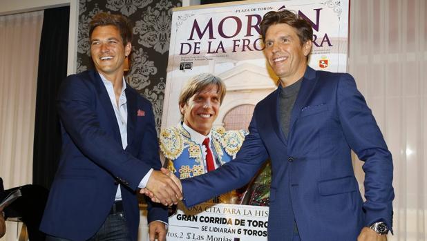 Manuel Díaz y Julio Benítez «lidian» con su primer encuentro