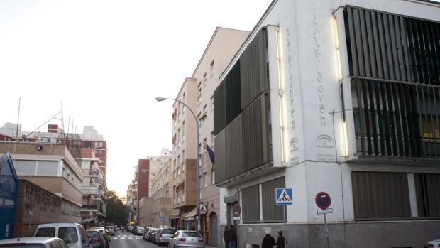 Sede de Inturjoven en la calle Virgen de la Victoria de Sevilla