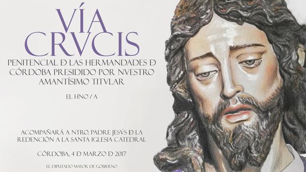 Papeleta de sitio del Vía Crucis de la Redención