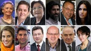 Todos los nombres de las Medallas de Andalucía e Hijos Predilectos de Andalucía