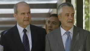 La causa de los ERE contra Chaves y Griñán ya está en la Audiencia para que sean juzgados