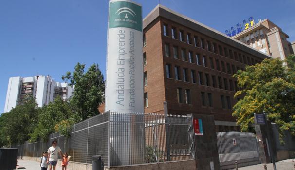 En la imagen, la sede de Andalucía Emprende