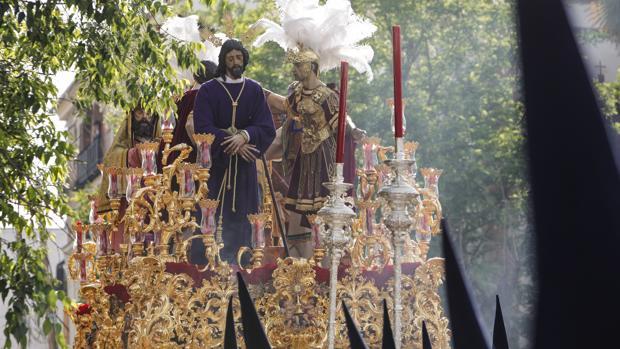 Nuestro Padre Jesús de la Redención, durante su procesión