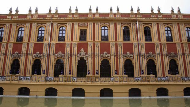 Una fachada interior del Palacio de San Telmo, sede de la presidencia de la Junta