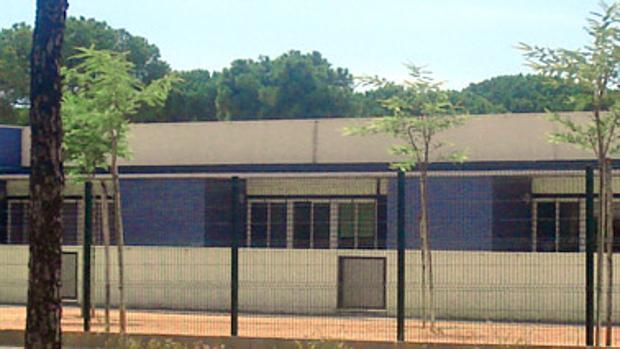 Instalaciones del colegio de Aljaraque donde tuvieron lugar los presuntos abusos