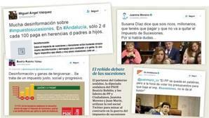 Clamor en las redes sociales contra el impuesto de sucesiones en Andalucía