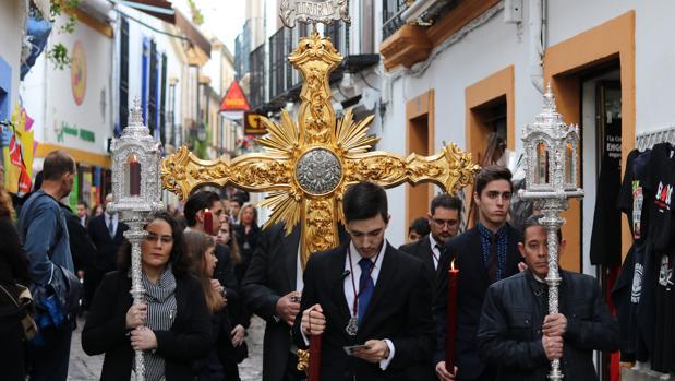 Fiscal de horas de la Estrella, en el pasado Vía Crucis