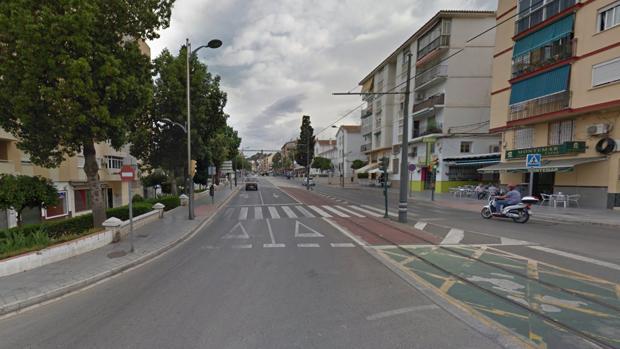 El suceso ha tenido lugar en la avenida Vivar Téllez, en la localidad malagueña de Vélez-Málaga