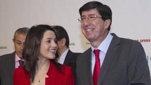 El líder de Ciudadanos en Andalucía urge al PSOE a iniciar el relevo de Susana Díaz al frente de la Junta