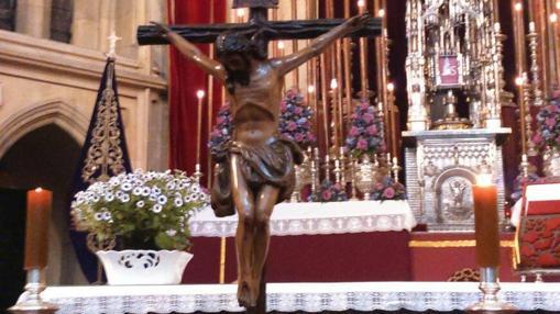 Imagen del nuevo Crucificado