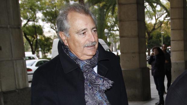 José María Martín Delgado, en los juzgados de Sevilla en 2014