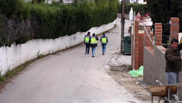 Urbanizacion «La Milla de Oro de Marbella», donde fue hallada una persona muerta con un tiro en la cabeza