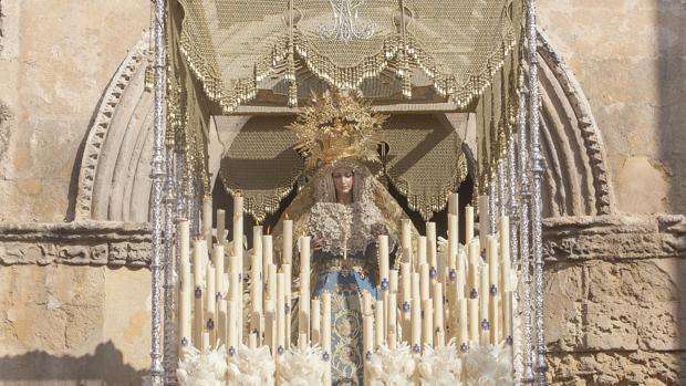 Salida de la Virgen de la Alegría