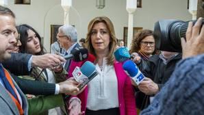 Susana Díaz estrena apoyos... y cuenta corriente