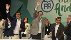 Rajoy reclama «unidad» en torno a Moreno para alcanzar la Presidencia de la Junta