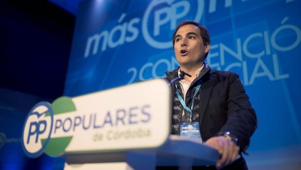 Nieto durante su intervención en el XVIII Congreso Nacional del PP