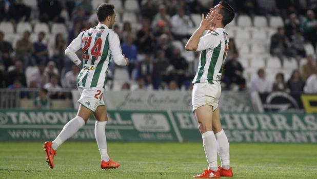 Alfaro lamenta una ocasión de gol marrada ante el Zaragoza