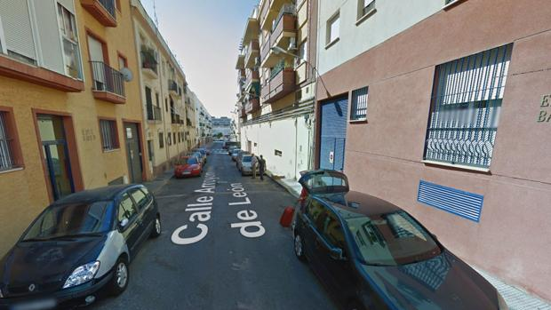 La calle donde se ha producido el siniestro