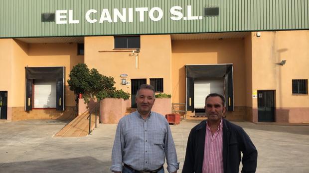 Pedro Cano con su socio Francisco Doctor