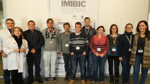 Los investigadores del Imibic que han participado en el estudio
