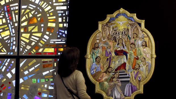Gloria expuesta en la parroquia de San José y Espíritu Santo