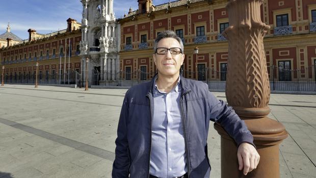 El funcionario de la Junta Luis Escribano