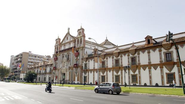 Fachada de la Diputación provincial