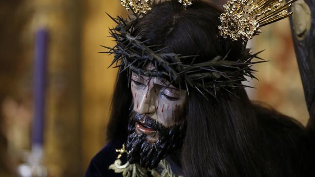 Nuestro Padre Jesús Caído, tras su restauración