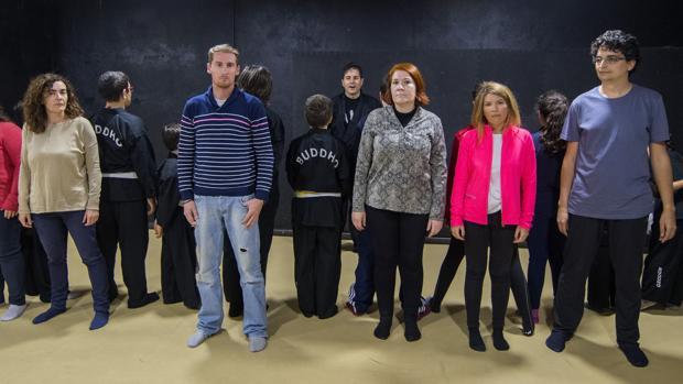 En el taller de defensa personal de Iapae, lasvíctimas de acoso aprenden a prevenir y controlar el miedo