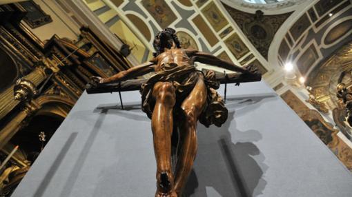 Imagen cenital del Cristo