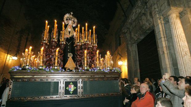 Procesión de la Virgen de la Presentación, en 2008