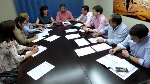 Reunión del comité electoral interno del PP de Córdoba para el congreso