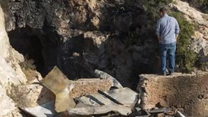 La cueva de Almería donde se produjo la tragedia