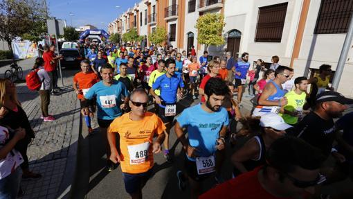 Salida de una carrera popular de la provincia de Córdoba