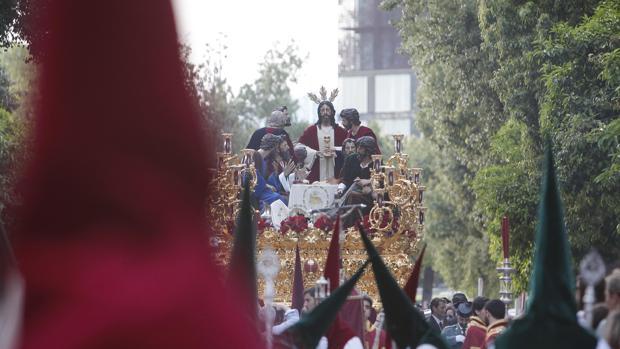 Imagen de la procesión de La Sagrada Cena.
