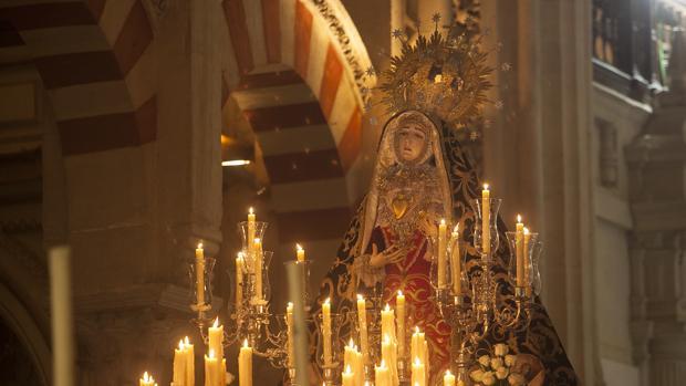 Nuestra Señora de los Dolores en la Catedral