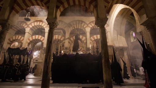 Jesús Nazareno, en el interior de la Catedral