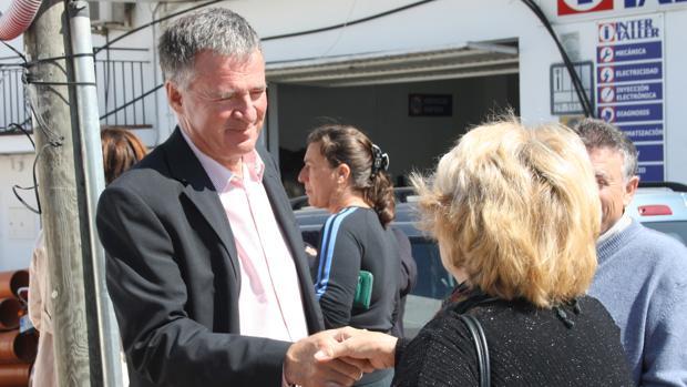 El presidente del PP de Mijas, Ángel Nozal