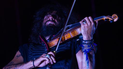 El violinista Ara Malikian en una de sus actuaciones.