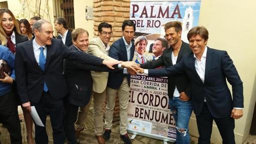 Presentación del cartel de la corrida.