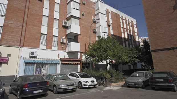 Aspecto de la calle Ciudad de Montilla, en Campo de la Verdad del Distrito Sur