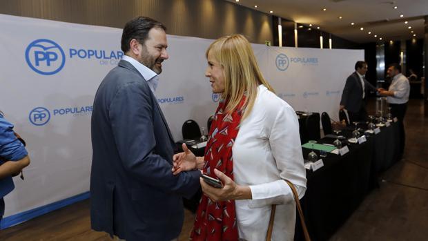 Molina y Alarcón, en la junta directiva del PP