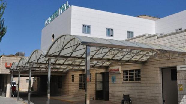 Hospital de Baza, donde está ingresada la mujer agredida