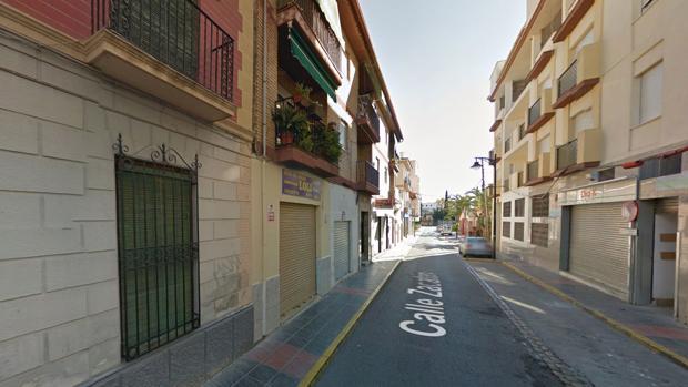 La calle Zalacaín, donde ocurrieron los hechos