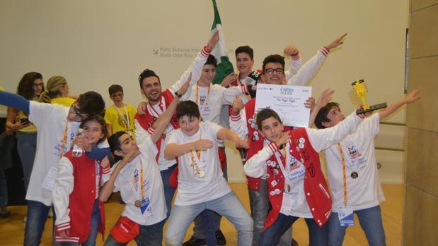El equipo cordobés a la finalización del torneo nacional disputado en Logroño