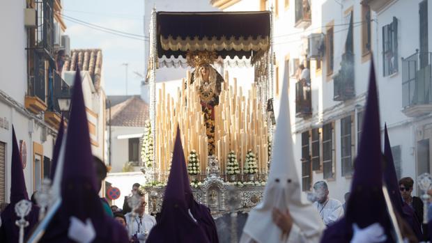 Nuestra Señora del Mayor Dolor, el pasado Miércoles Santo
