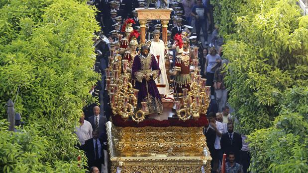 La hermandad de la Sangre, el pasado Martes Santo