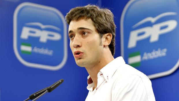 El presidente de Nuevas Generaciones de Andalucía, Paniagua