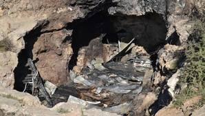 La cueva donde sucedieron los hechos