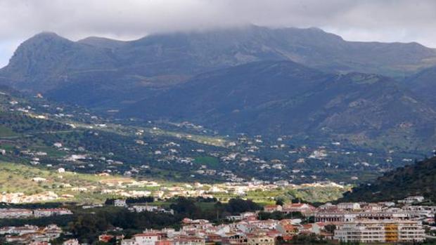 El accidente aéreo ha tenido lugar en el término municipal de Alcaucín
